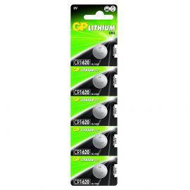 GP CR1620 Coin Cell Batteries | 5 Pack