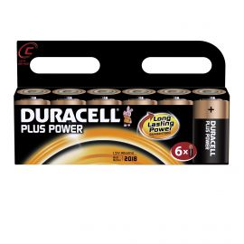 Duracell Plus Power C LR14 Batteries | 6 Pack