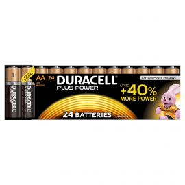Duracell Plus Power AA LR6 Batteries | 24 Pack