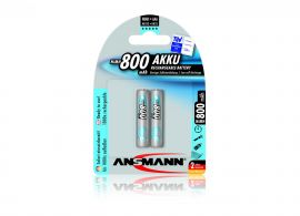 Ansmann Keyboard & Mouse AAA HR03 800mAh Rechargeable Batteries | 2 Pack