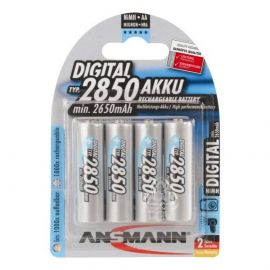 Ansmann Digital AA HR6 2850mAh Rechargeable Batteries | 4 Pack