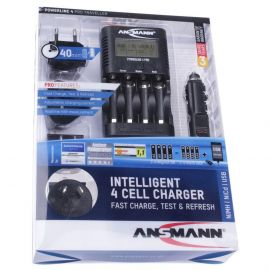 Ansmann Powerline 4 Pro Battery Charger With USB Charger