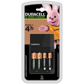 Duracell Hi-Speed Battery Charger CEF 14   inc 2 AA & 2 AAA Batteries