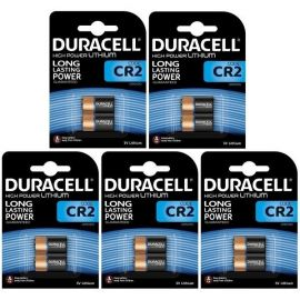 Duracell High Power Lithium CR2 Battery | 10 Bulk Pack