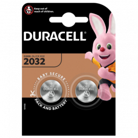 Duracell CR2032 DL2032 Coin Cell Lithium Batteries | 2 Pack