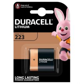 Duracell High Power Lithium DL223 (CRP2P) Battery | 1 Pack