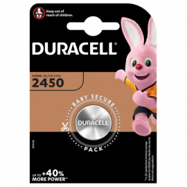 Duracell CR2450 DL2450 Coin Cell Lithium Battery | 1 Pack