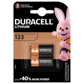 Duracell High Power Lithium DL123 CR123A Batteries | 2 Pack