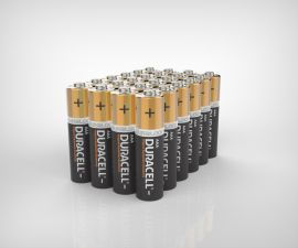 Duracell Plus AAA LR03 Batteries | 24 Bulk Pack