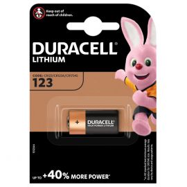 Duracell Lithium DL123 CR123A Battery | 1 Pack