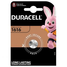 Duracell CR1616 DL1616 Coin Cell Lithium Battery | 1 Pack