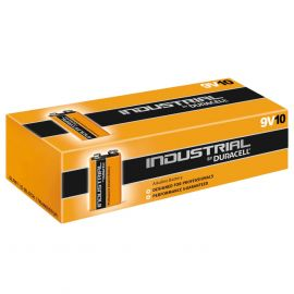 Duracell Industrial (Procell) 9V 6LR61 PP3 Batteries | 10 Pack