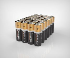 Duracell Plus AA LR6 Batteries | 24 Bulk Pack