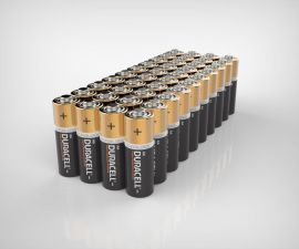 Duracell Plus AA LR6 Batteries | 40 Bulk Pack