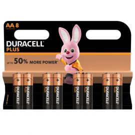 Duracell Plus AA LR6 Batteries | 8 Pack