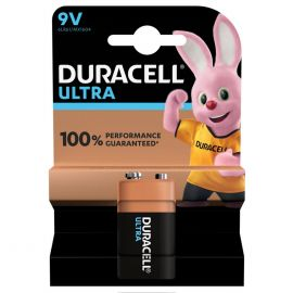 Duracell Ultra 9V 6LR61 PP3 Battery |1 Pack