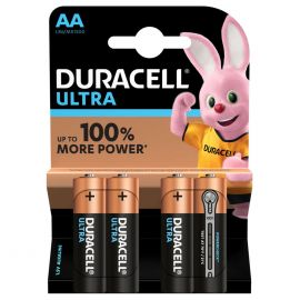 Duracell Ultra AA LR6 Batteries | 4 Pack