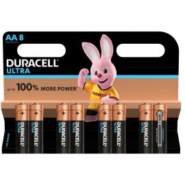 Duracell Ultra AA LR6 Batteries | 8 Pack
