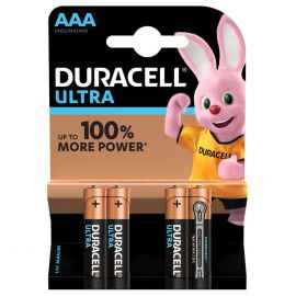 Duracell Ultra AAA LR03 Batteries | 4 Pack