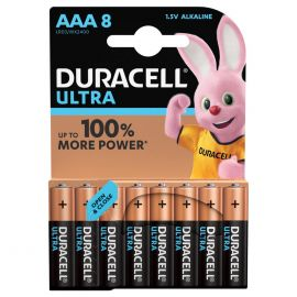 Duracell Ultra AAA LR03 Batteries | 8 Pack
