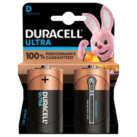 Duracell Ultra D LR20 Batteries | 2 Pack