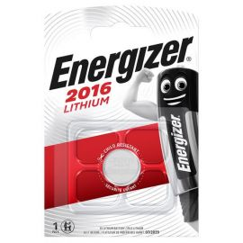 Energizer CR2016 Lithium Coin Cell Battery | 1 Pack