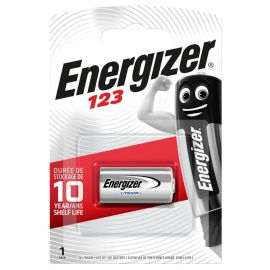 Energizer CR123A 123 3V Lithium Battery | 1 Pack