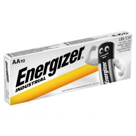 Energizer Industrial AA MN1500 LR6 Batteries | 10 Pack