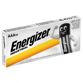 Energizer Industrial AAA LR03 Batteries | 10 Pack