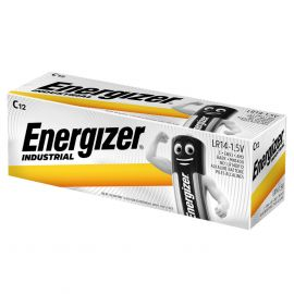 Energizer Industrial C LR14 Batteries | 12 Pack