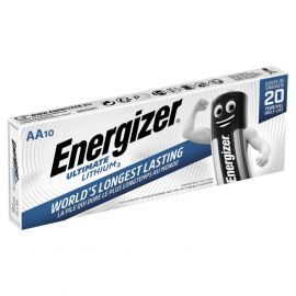 Energizer Ultimate Lithium AA LR6 L91 Batteries | 10 Pack