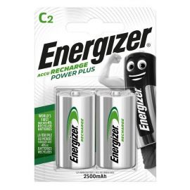 Energizer Power Plus C HR14 2500mAh Rechargeable Batteries | 2 Pack