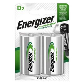 Energizer Power Plus D HR20 2500mAh Rechargeable Batteries | 2 Pack