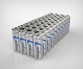 Energizer Ultimate Lithium AA LR06 Batteries | 48 Bulk Pack