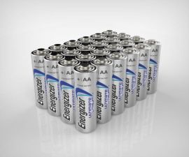 Energizer Ultimate Lithium AA LR06 Batteries | 24 Bulk Pack