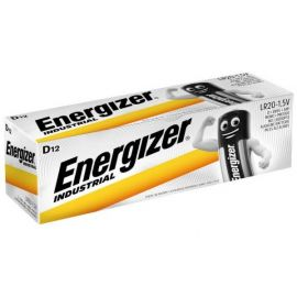 Energizer Industrial D LR20 Batteries | 12 Pack