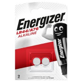 Energizer LR44 A76 V13GA Button Cell Batteries | 2 Pack