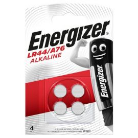 Energizer LR44 A76 V13GA Button Cell Batteries | 4 Pack