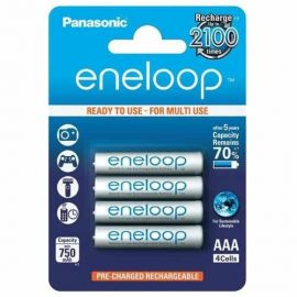 Panasonic Eneloop AAA HR03 750mAh Rechargeable Batteries | 4 Pack