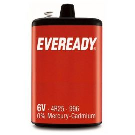 Eveready PJ996 4R25 6V Lantern Battery | 1 Pack