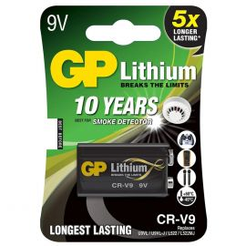 GP 9V PP3 CRV9 Lithium Battery | 1 Pack