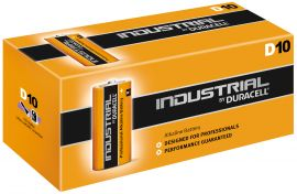 Duracell Industrial (Procell) D LR20 Batteries | 10 Pack