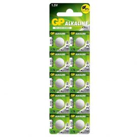 GP LR44 A76 Button Cell Batteries | 10 Pack
