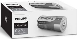 Philips Industrial C LR14 Alkaline Batteries | 10 Pack