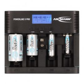Ansmann Powerline 5 Pro Battery Charger With USB Charger