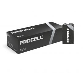 Duracell Procell 9V PP3 6LR61 ID1604 Batteries | 10 Pack