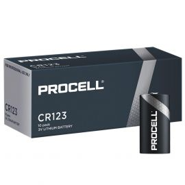 Duracell Procell CR123A Batteries | 10 Pack