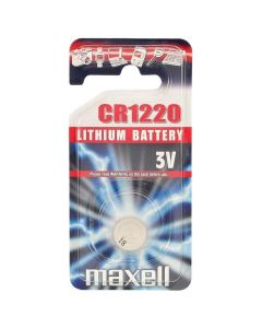 Maxell CR1220 Coin Cell Battery | 1 Pack