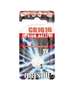 Maxell CR1616 Coin Cell Battery | 1 Pack