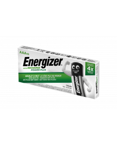 Energizer Power Plus AAA HR03 700mAh Pre-charged Rechargeable Batteries | 10 Bulk Pack